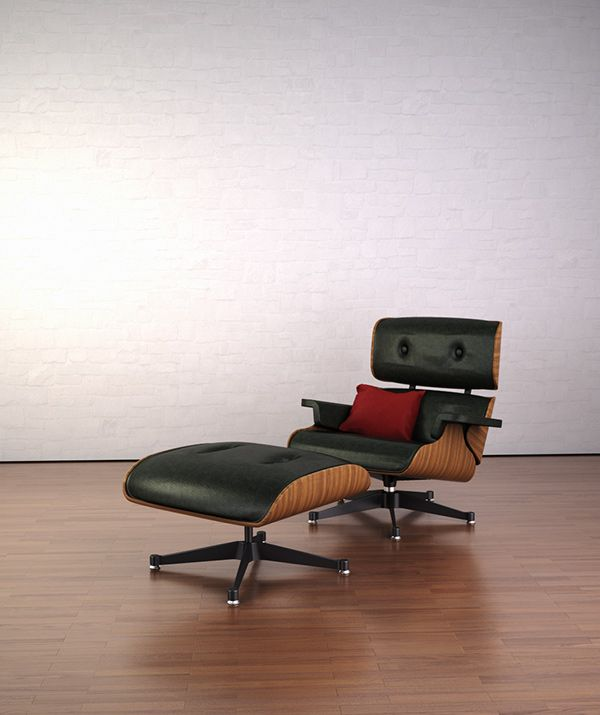 James Eames Lounge Chair Charles Eames Lounge Chair On Behance
