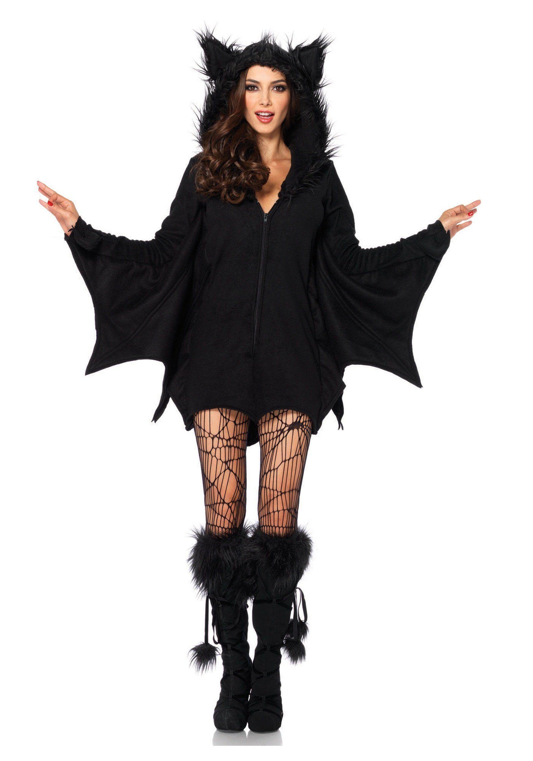 Plus Size Cozy Bat Adult Costume Clothing