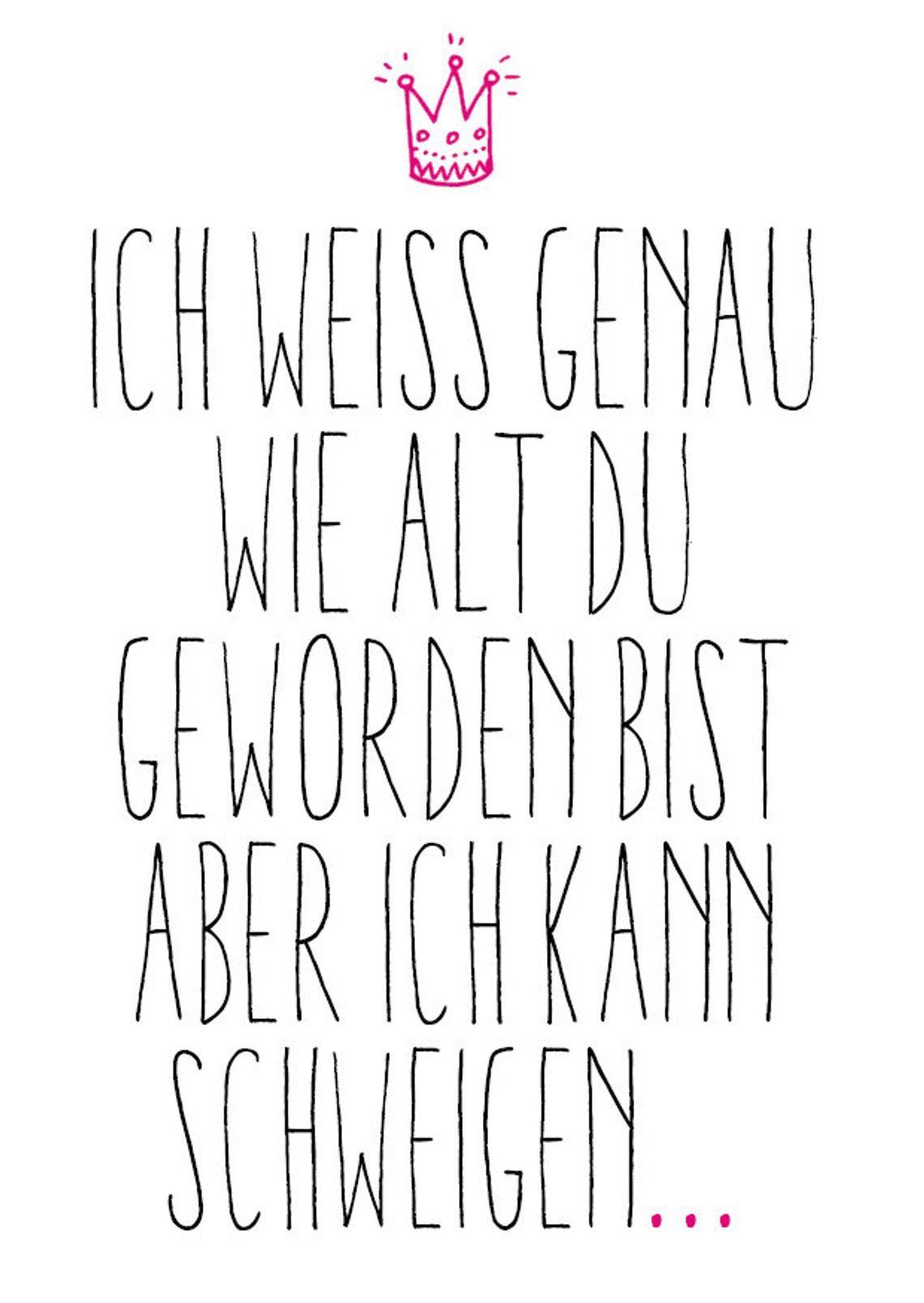 5 Geburtstags Postkarten im Set: Schweigen | Etsy