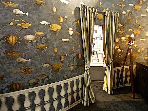 COLE & SON, Fornasetti II Collection. Wallpaper 'Macchine