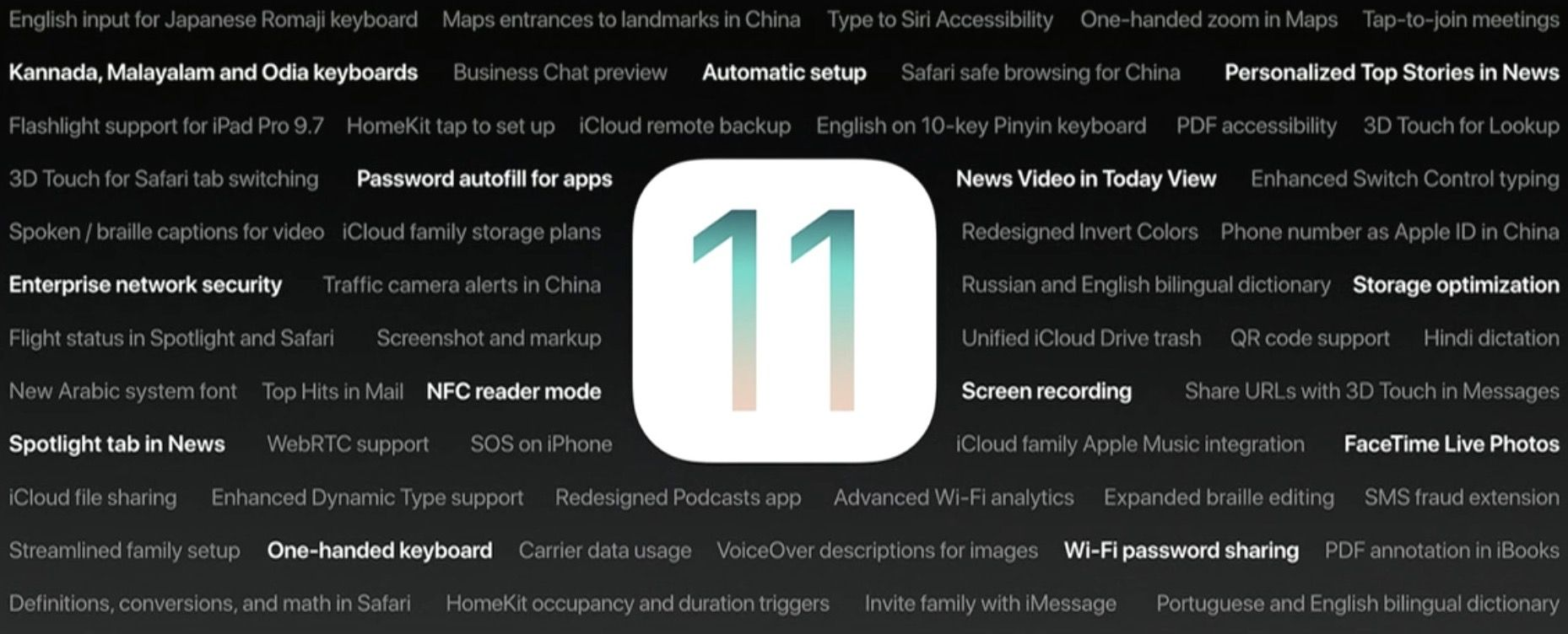 90+ new features shipping with iOS 11 this Fall Ios 11