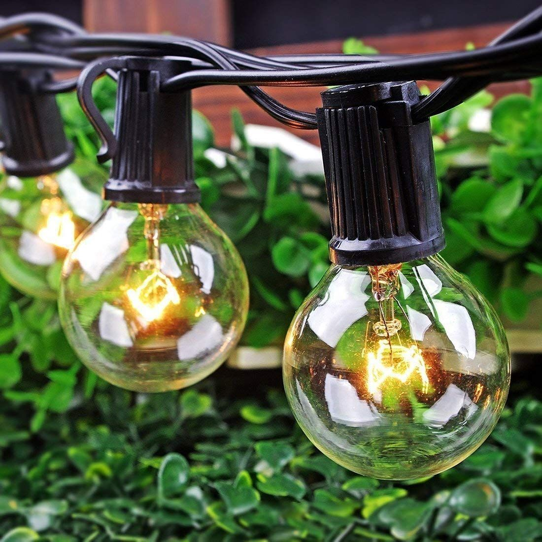 Pin On Outdoor String Lights G40 Patio Lights Wedding Lights