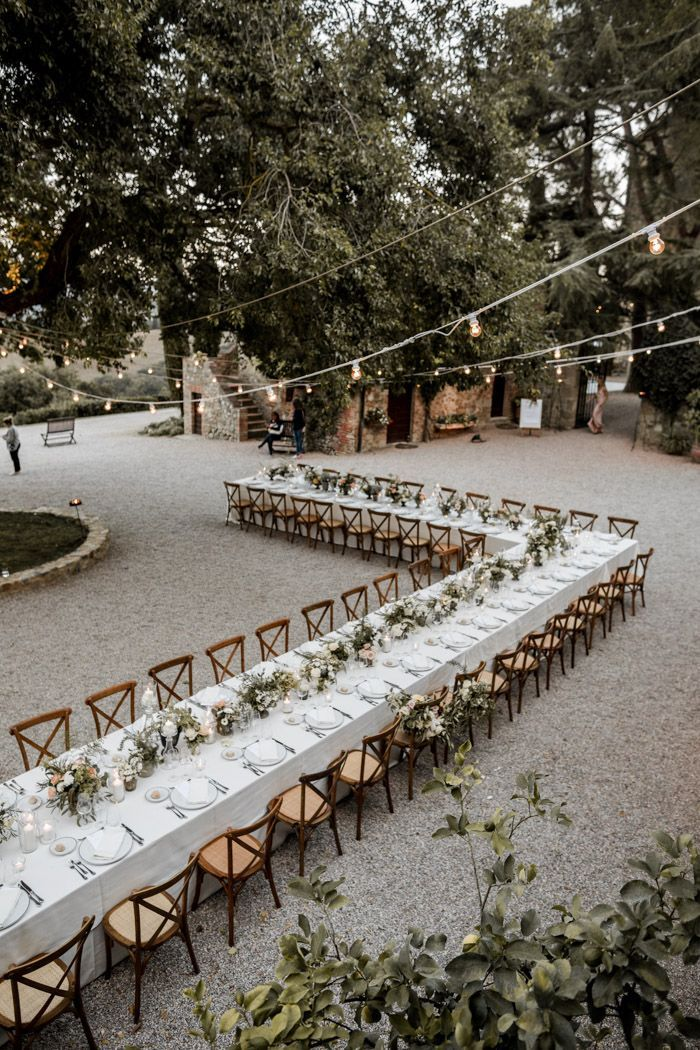 Breathtaking Black Tie Tuscany Wedding at Borgo di Castelvecchio | Junebug Weddings