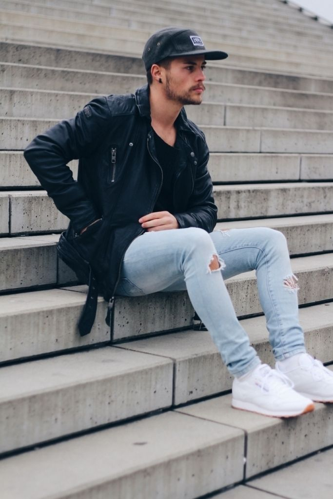 1000  images about Ripped Jeans For Men on Pinterest | Nice White