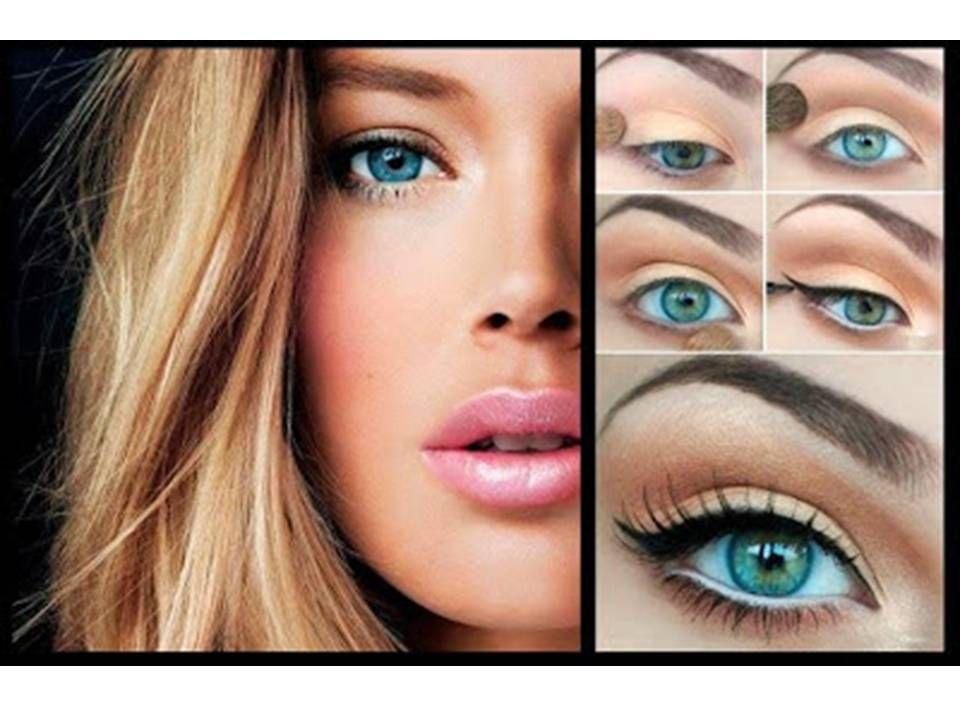 Como maquillarse paso a paso natural maquillaje sencillo y s til en el rostro femenino cuando - Como pintarse bien ...