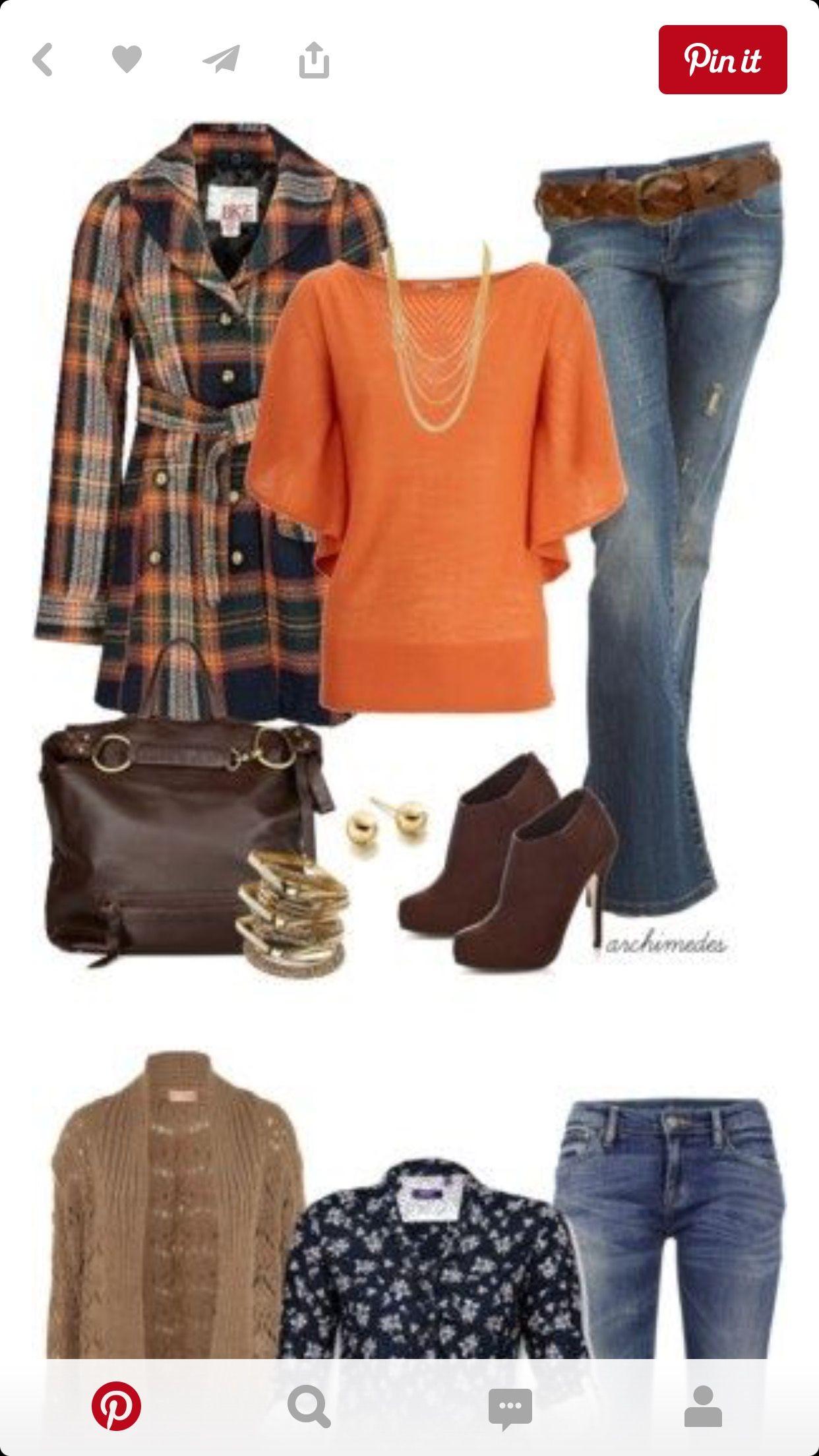 Orange top❤️