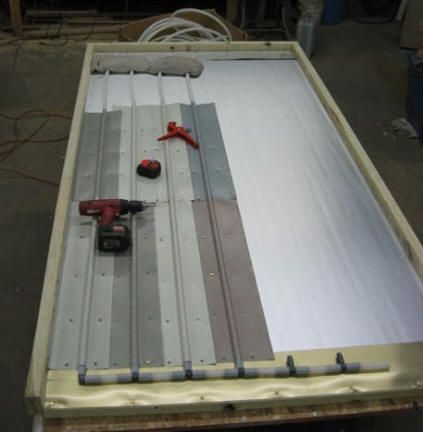 Diy Solar Pool Heating Collector From Pex And Aluminum