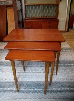 teak retro furniture. FINN \u2013 Retro Teak 2 Småbord (settbord) · FurnitureTeak Furniture Y