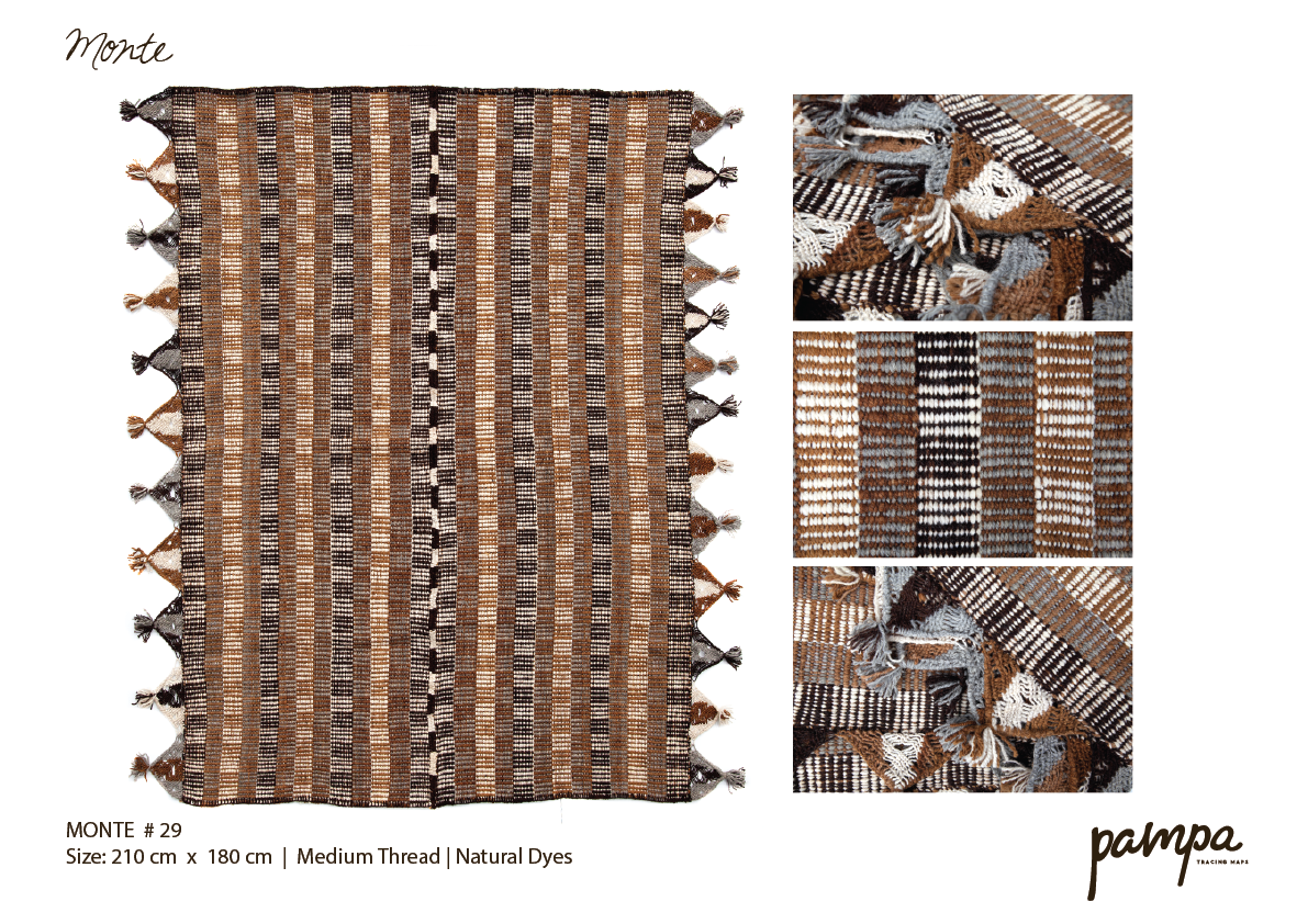 Handmade Rugs from Argentina selling in Australia & World Wide www.pampa.com.au