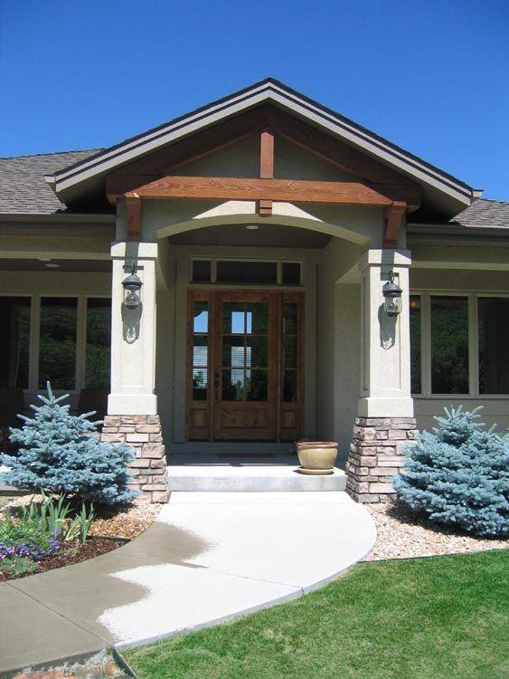 Front Door Styles For Ranch Homes