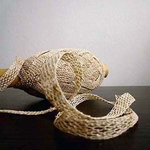 Knotted Tape | www.habutextiles.com