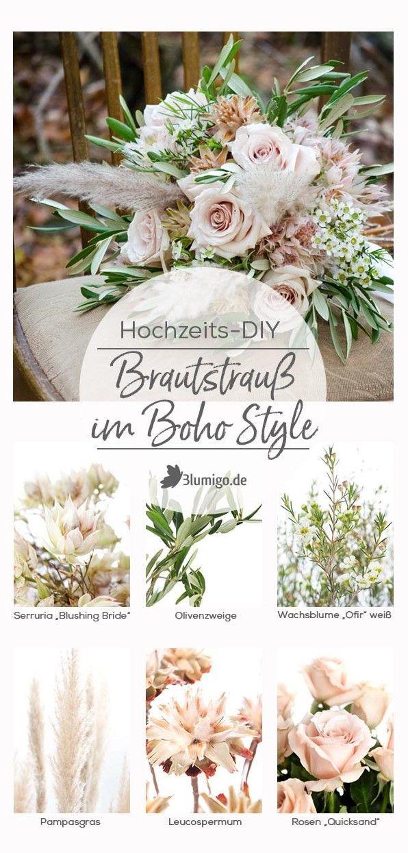 """Herbstliche Hochzeit im """"Boho Style"""" – Teil 1: Brautstrauß selber binden"""