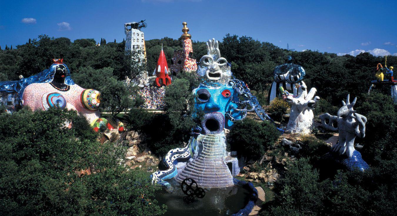 Il Giardino Dei Tarocchi E Un Parco Artistico Situato In Localita