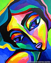 abstract portrait painting - Google Search