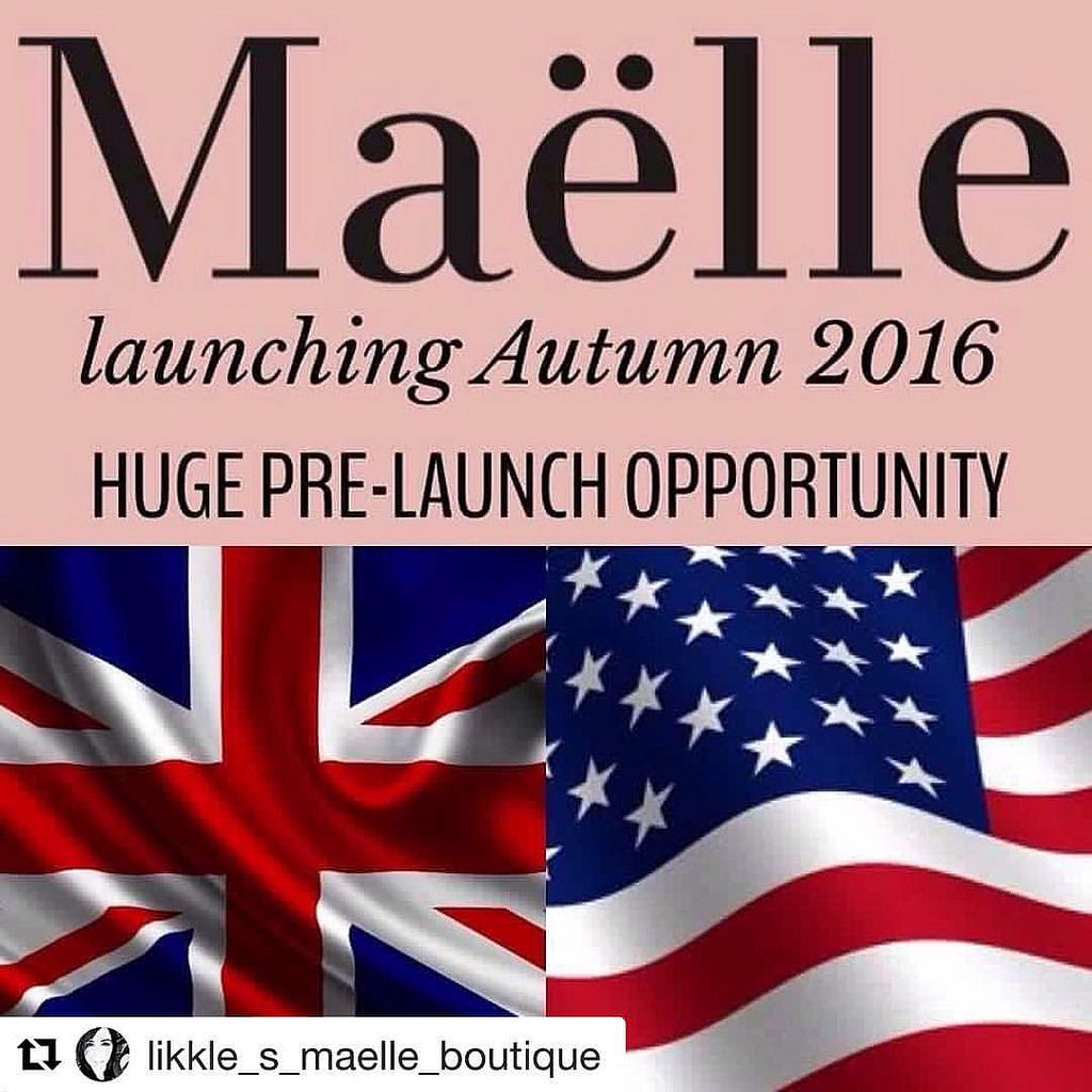 #Repost @likkle_s_maelle_boutique with @repostapp ・・・ ❤️💞PrelaunchOpportunity #Launching #October #2016 🌸 UK & USA be part of the pre-launch building your business ready to hit the ground running at launch #AskMeHow #