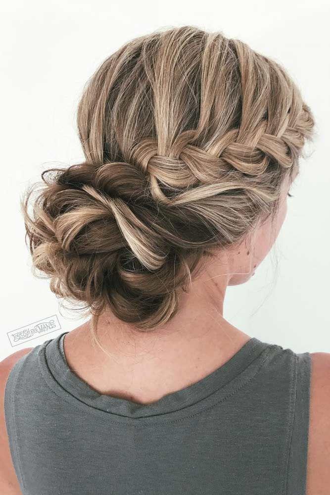 21 Braided Bun Hairstyles To Pick #braidedbuns