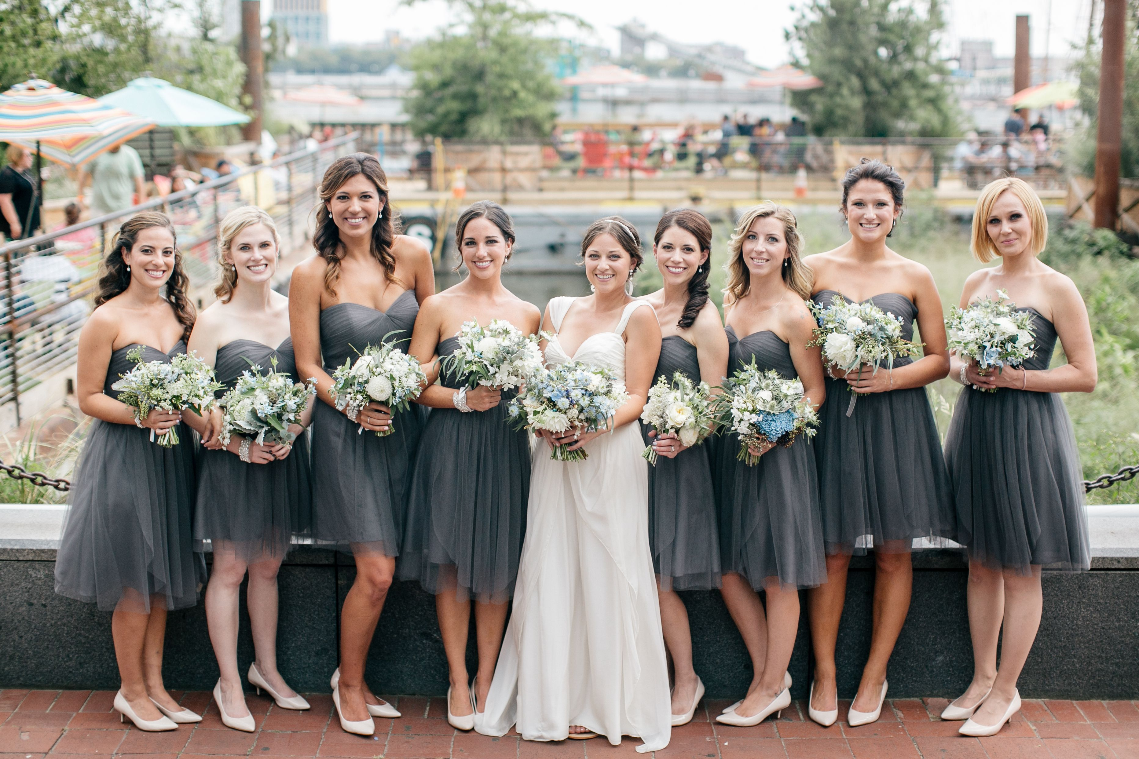 32+ Short grey bridesmaid dress information