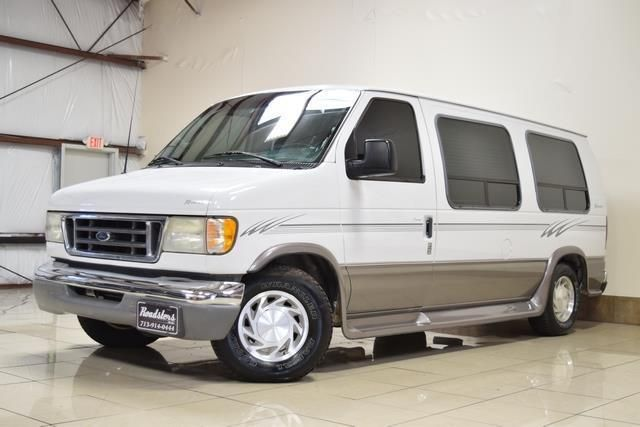 2003 Ford E Series Van Conversion Low Top Ford E Series Vans Ford