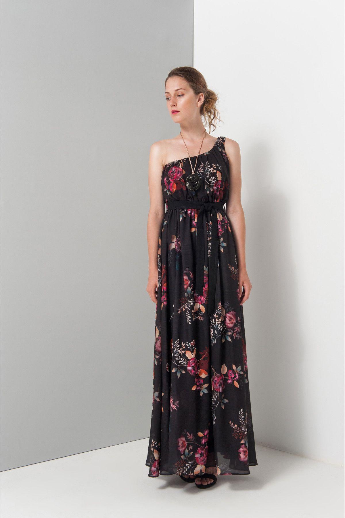 Φορεμα floral μαξι  30bb1807e05