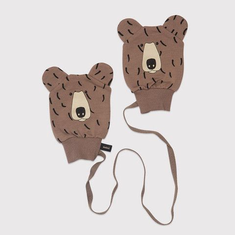 7e88d03295c7 Mini Rodini - bear gloves for babies   Oh Baby! » Curated by Amy of ...