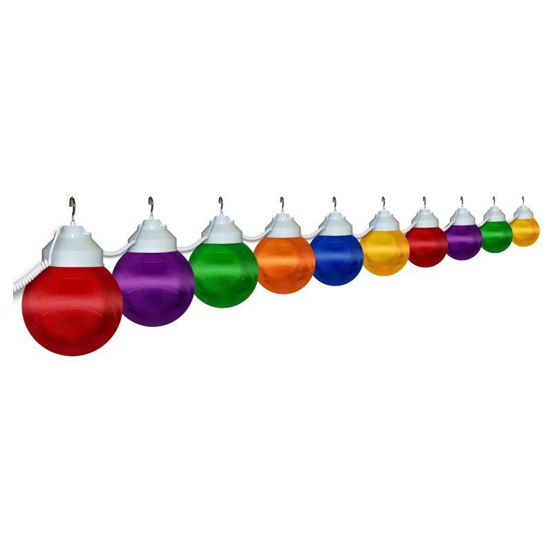 Polymer Products LLC Multi-Color Globe String Light Set - Multicolor - 1661-00523-PRE