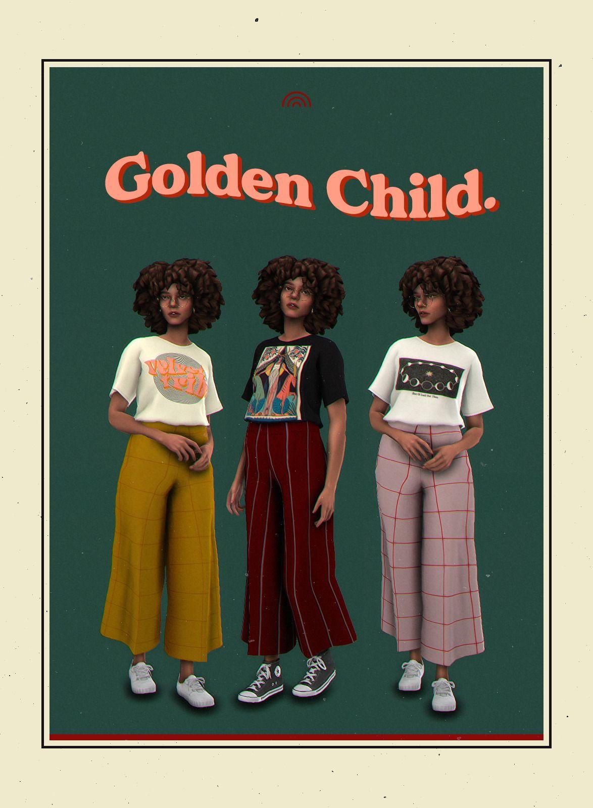 GOLDEN CHILD. a recolour set