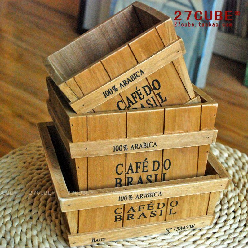 wood basket storage compote fruit baskets wooden box timber box - zzkko.com/note/19914 $6.37
