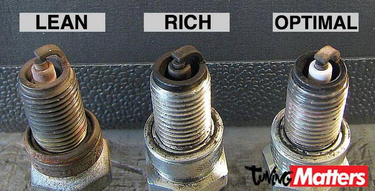 How To Check Your Spark Plug For The Correct Carburetor Setting Tuningmatters Com Spark Plug Engineering Automotive Mechanic