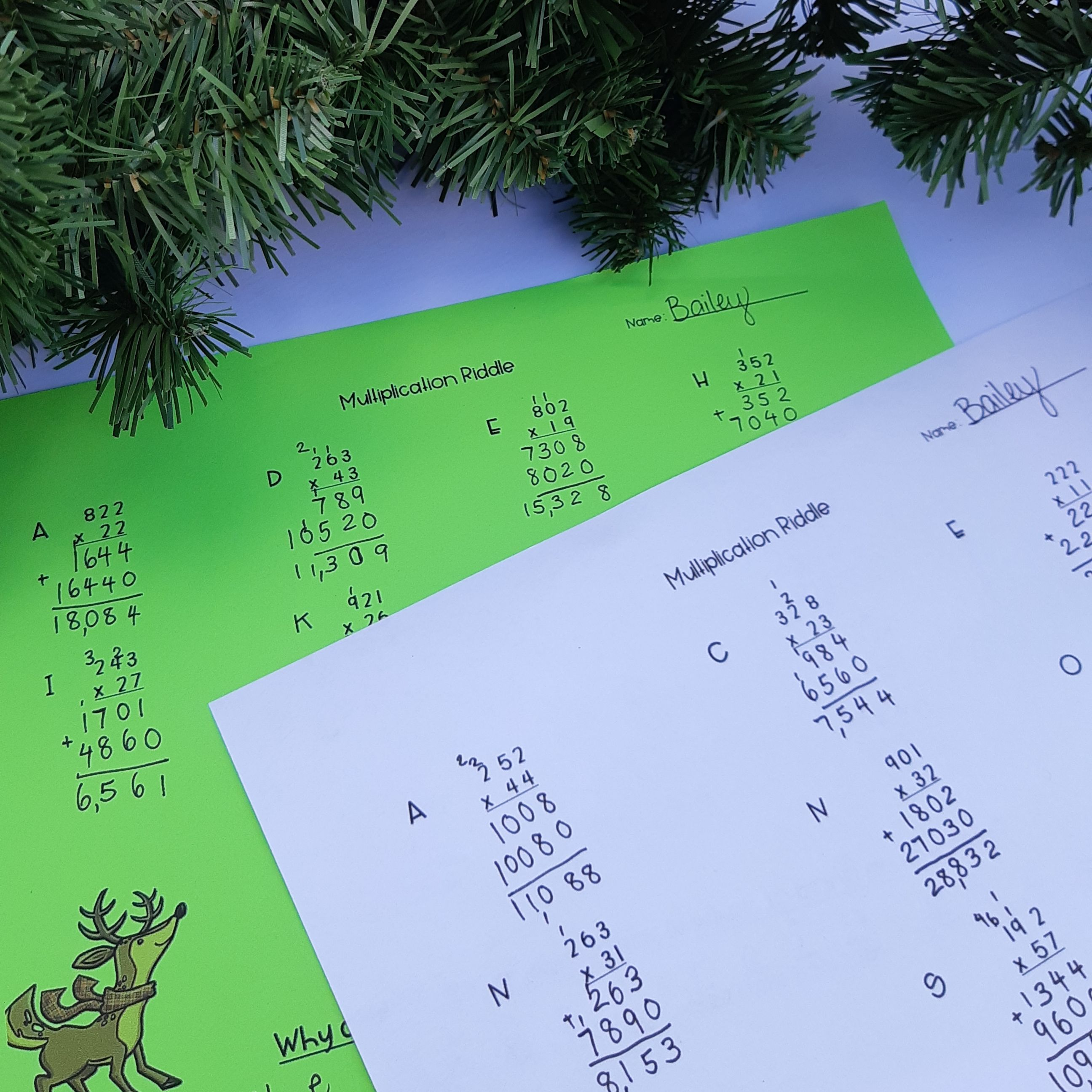 Self Checking Multi Digit Multiplication Worksheets Math Instructional Strategies Elementary Math Classroom Classroom Math Games [ 2592 x 2592 Pixel ]