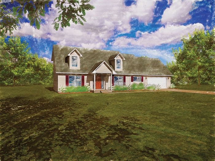 Modular Home The Virginia 3 Bedroom 2 5 Bath 2254 Sq Ft Two Story Cape Cod Modular Homes House Styles House Design
