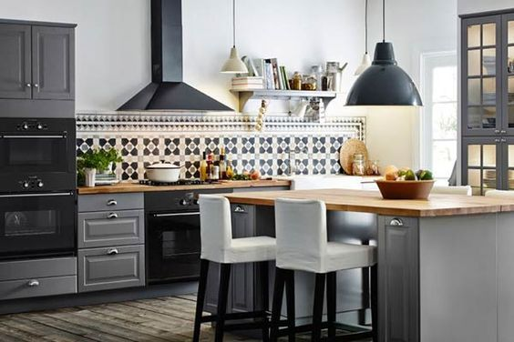 Black Kitchen Appliance Hatchett Design Remodel Virginia Beach
