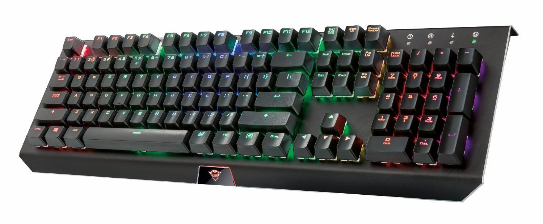 Trust Cada Gxt 890 Mechanische Rgb Gaming Tastatur Tastatur Gaming Tastatur Gaming