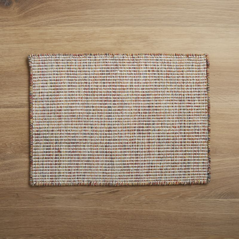 Free Shipping Shop Clay Woven Placemat Our Handwoven Cotton