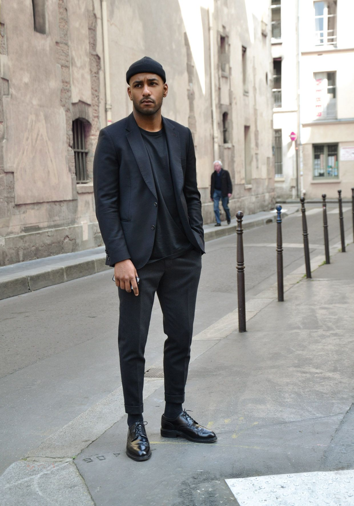 GQ Style | Street Style: All black everything