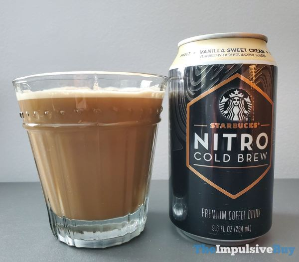 Vanilla Sweet Cream The nitro gave each of these a