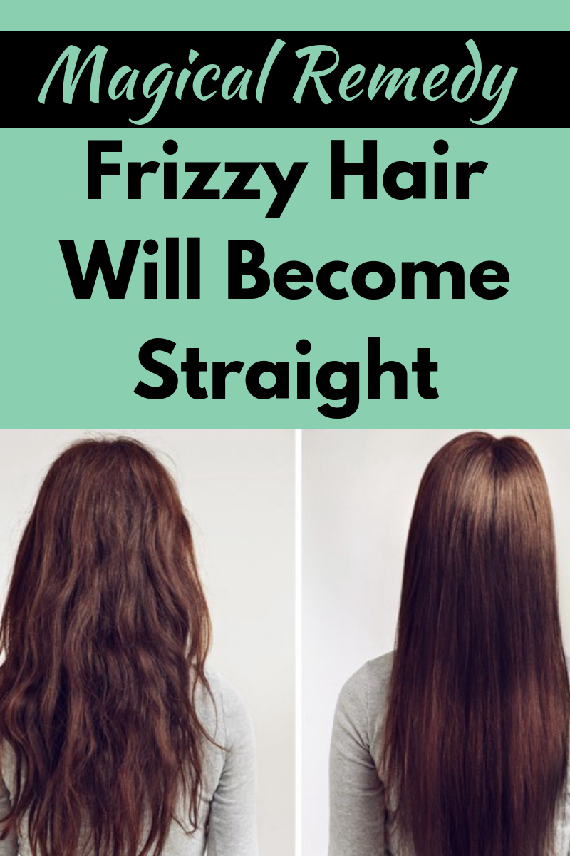 Try This Mask To Make Your Frizzy Hair Smooth Silky And That Also In Just Few Minute Frizz Free Hair Hair Straightening Treatment Straightening Natural Hair