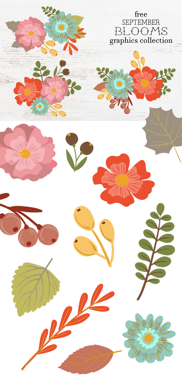 Free Flower Graphics Free Pretty Things For You Flower Graphic Free Flower Clipart Flower Clipart
