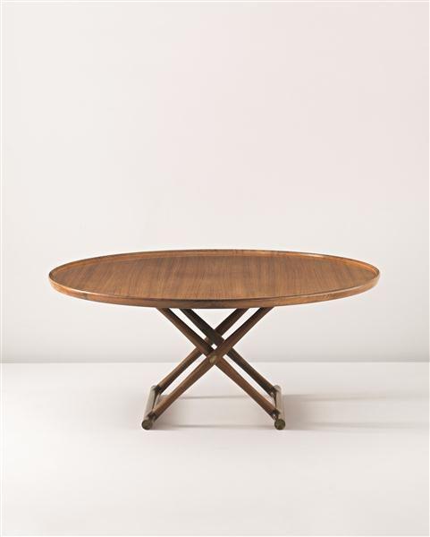 Nordic Design Mogens Lassen Rare And Large Folding Egyptian Coffee Table