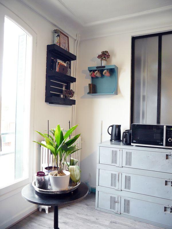 quand le vestiaire industriel devient meuble de cuisine #vestiaire ... - Meuble De Cuisine Industriel