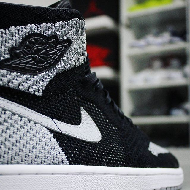 a01a884cb73 ... Go check out my Air Jordan 1 Retro High Flyknit Shadow on feet channel  link in ...