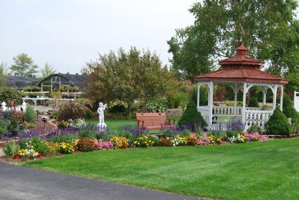 Gartengestaltung Beispiele - praktische Tipps und frische Ideen - gartengestaltung ideen beispiele