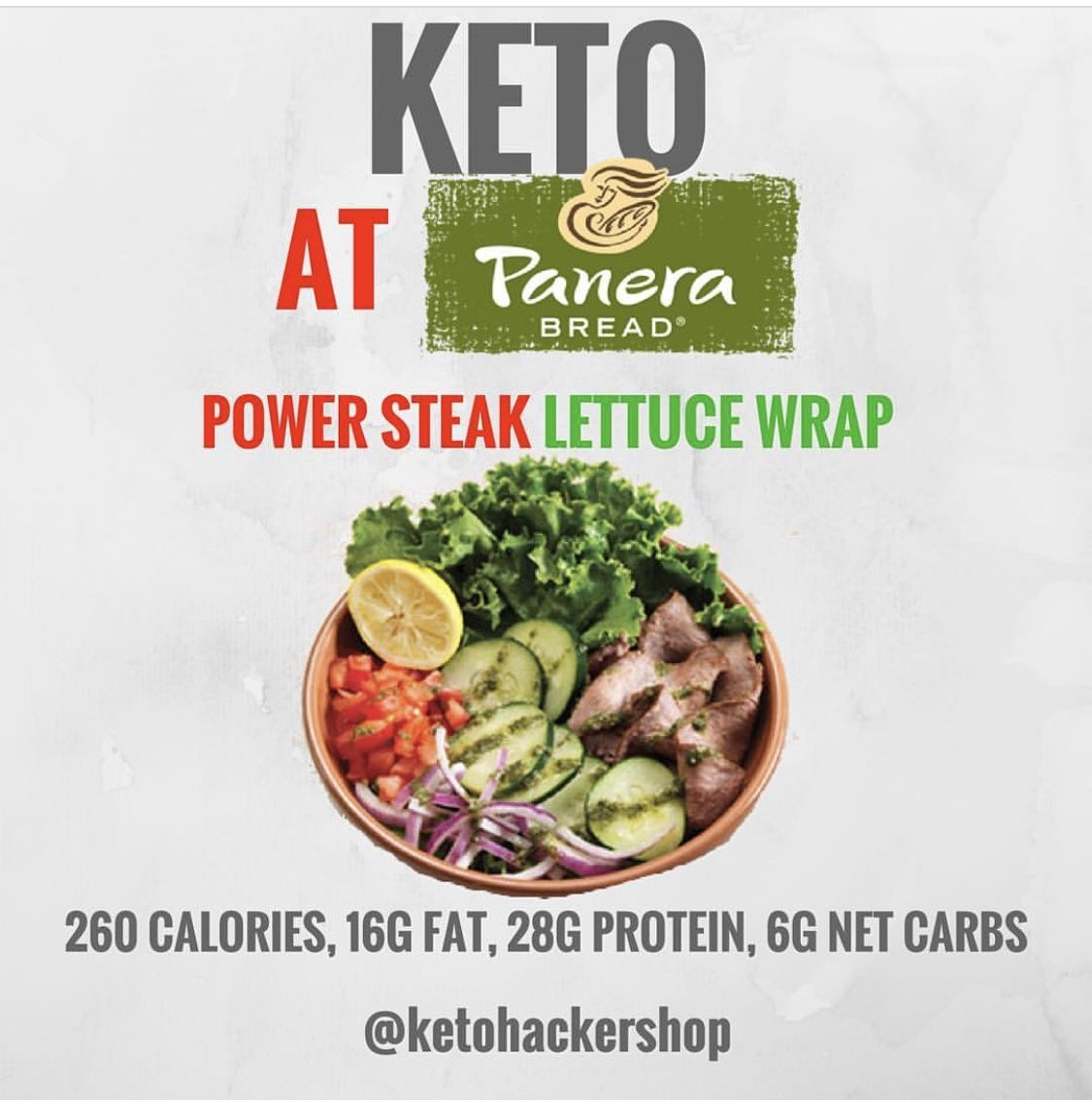 whats keto agreeable on panera