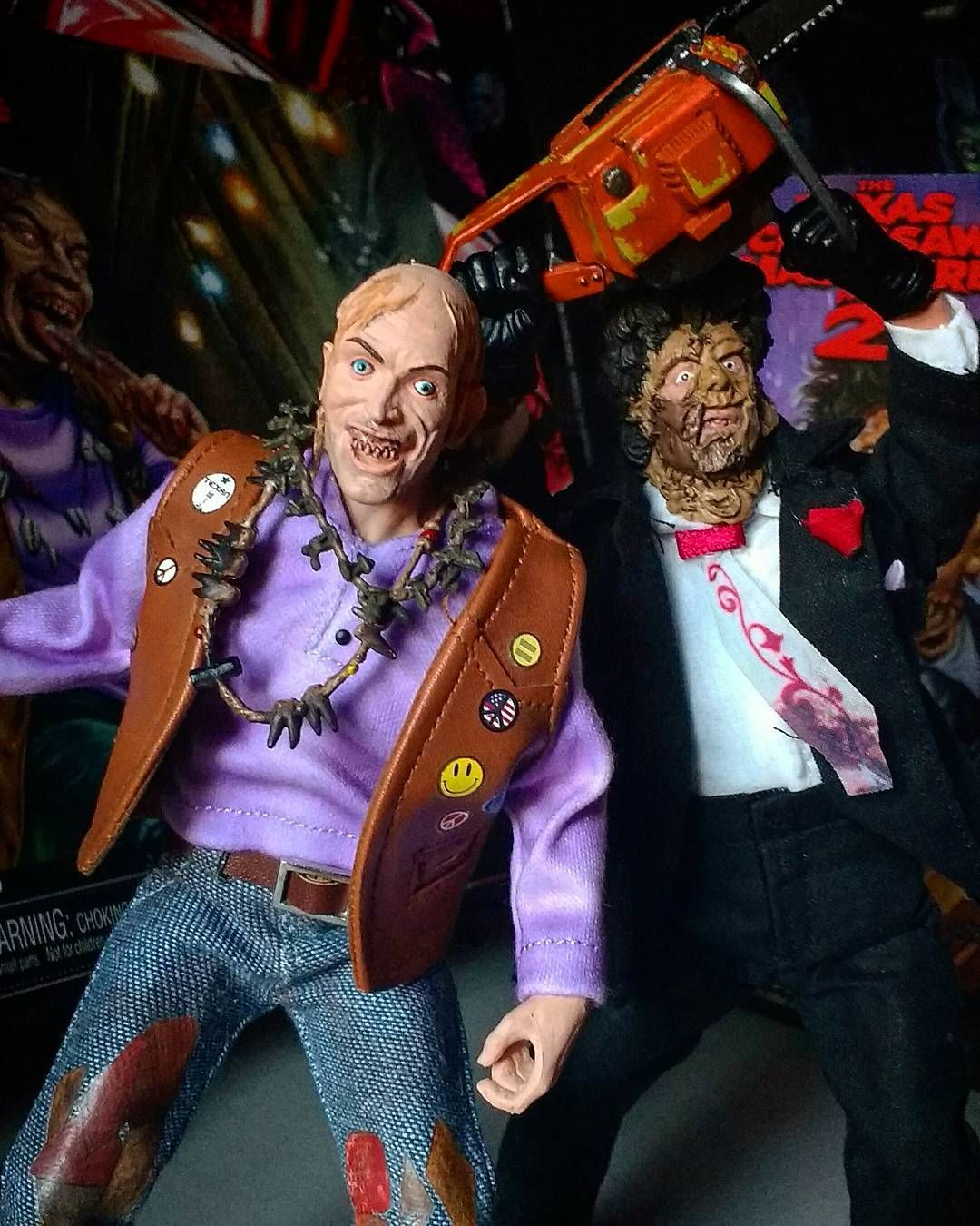Chop Top And Bubba Together At Last! Love These NECA