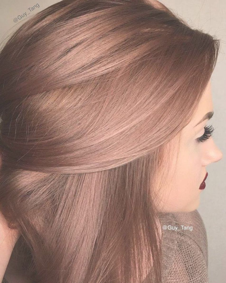 Rose Gold Hair Color Inspiration Top Black And Chart On Dark Skin Spray Hair Color Rose Gold Hair Color Light Brown Hair Inspiration Color