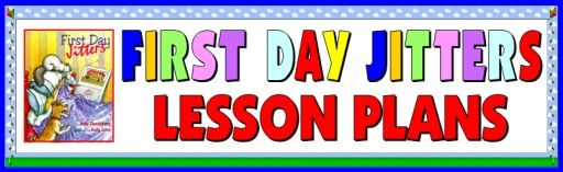 This page contains First Day Jitters lesson plans, teaching resources, and a fun student project - -perfect for students in Grades 3 - 5 too.
