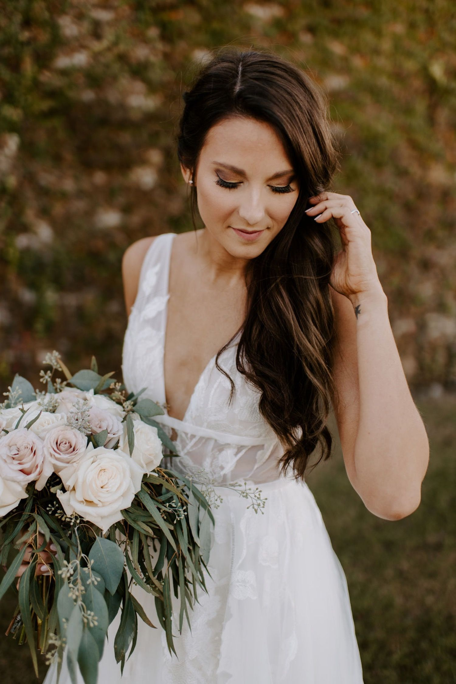 Oklahoma Fall Wedding-baumberhof #bridepictures