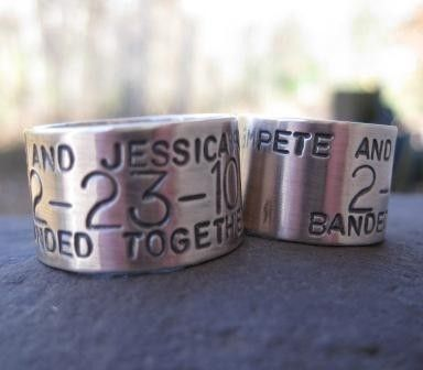 Personalized Sterling Silver Goose Duck Band Ring Custom For The Avid Hunter In Your Life Wedding Any Finger Size Made To Order