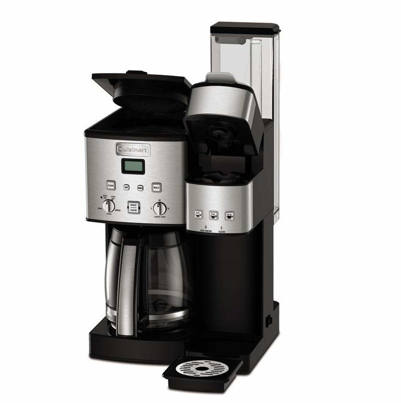Cuisinart Coffee Center 12 Cup Coffeemaker And Single Serve Brewer In 2020 Cuisinart Coffee Maker Coffee Maker Thermal Coffee Maker