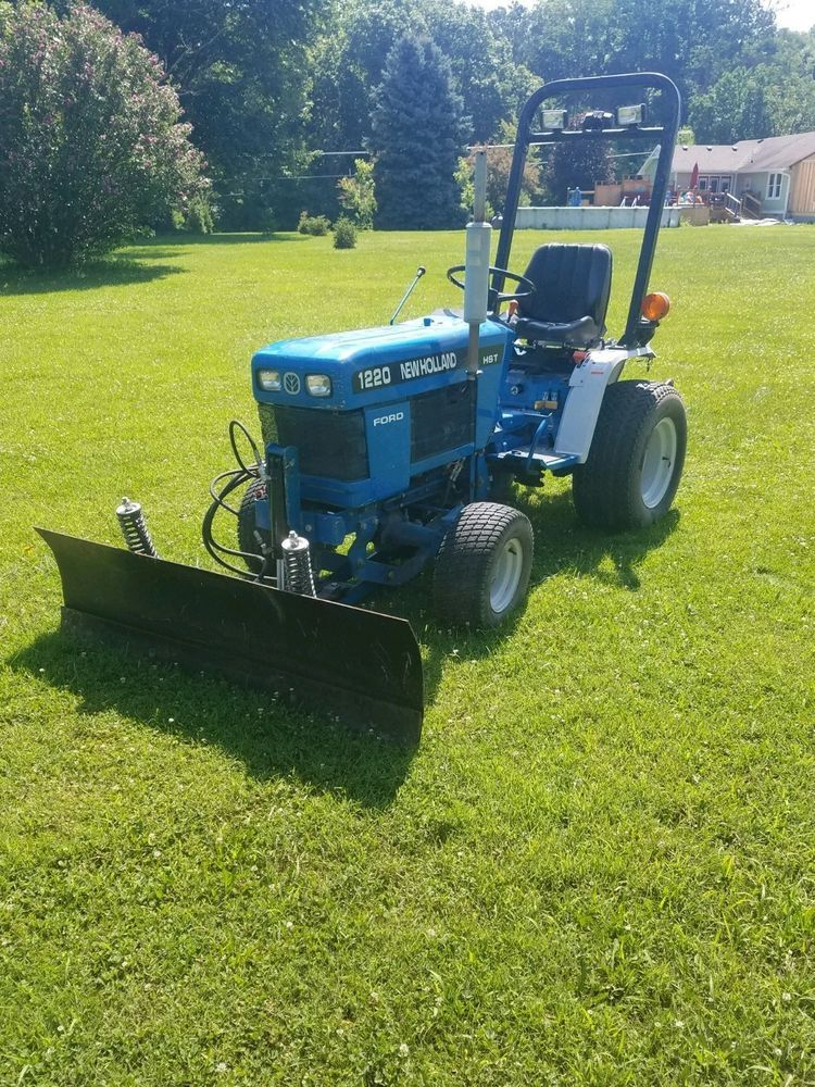 Very Clean Ford New Holland 1220 Tractor W Belly Mower Front Plow Can Ship Farmtractor Farming Tractor Countrysuppies Farm Tractors Ford News New Holland