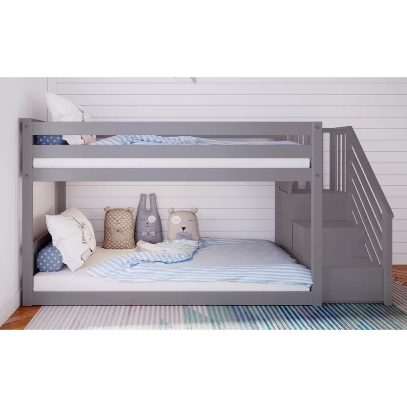 Kean Twin Over Twin Bunk Bed In 2020 Twin Bunk Beds Twin Loft